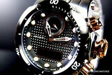 Mens Invicta Reserve Venom Ana/Digi Stainless Steel Swiss Carbon Fiber Watch New