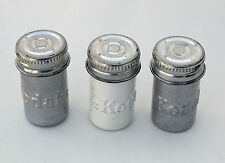 Kodak 828 Film Canisters (quantity 3) - Empty cans for film or geocaching
