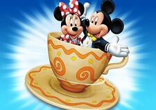 Cartel De Mickey Y Minnie A3 Brillante