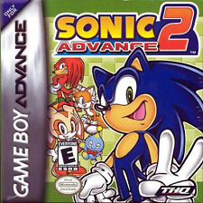 Sonic Advance 2 GBA New Game Boy Advance