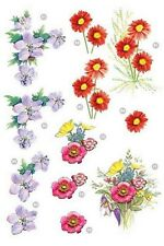 PRETTY DECOUPAGE FOR CARDS OR CRAFTS - FLOWERS 1