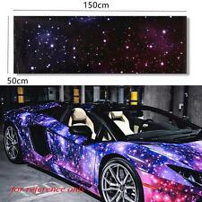 "20""x60"" Galaxy Vinyl Wrap Sticker Decal Film Sheet For Car Moto Bike Laptop"