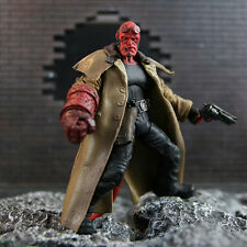 "MEZCO Hellboy with Cigar Variant Samaritan & Big Baby 6"" figure"