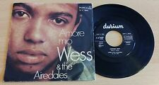 "WESS & THE AIREDALES - AMORE MIO - 45 GIRI 7"" - ITALY PRESS"