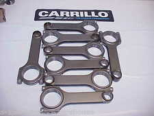 "8-Carrillo H-Beam 6.180"" Rods 2.015""-.930""-.806"" Wide NASCAR NICE"
