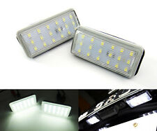 Canbus License Plate LED Light Kit Direct Fit For Lexus GX470 LX470 LX570 White
