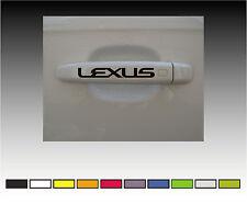 LEXUS Premium Door Handle Decals Stickers
