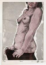 """Erhard Göttlicher """"Louise"""", 1987 Farbradierung, handsigniert"""