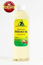 HAZELNUT OIL ORGANIC CARRIER COLD PRESSED 100% PURE 36 OZ