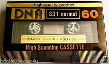 DNA SD1 60 NORMAL SEALED BLANK VINTAGE AUDIO CASSETTE TAPE TEAC LOOKING SHELL