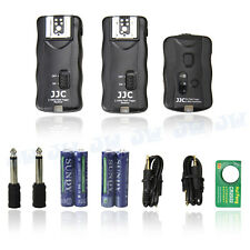 JJC 2.4GHz Wireless Remote Control & Flash Trigger w/ 2 Receivers for Nikon DSLR