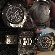 Invicta Men's 15603 Specialty Analog Display Japanese Quartz Silver Watch