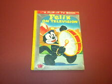 FELIX THE CAT - ON TELEVISION Treasure Books 1956