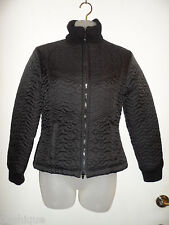 Bebe Sport BBSP S Jacket  Black Down Feather Puffer Zipper Snowbunny Winter