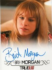 TRUE BLOOD BRIT MORGAN AS DEBBIE PELT AUTOGRAPH CARD ALSO SUPERGIRL LIVEWIRE