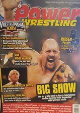 Power Wrestling 05/2008 WWE WWF TNA + 4 Poster (Backlash, Flair, Show, J. Hardy)