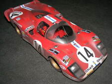 FERRARI 512S long Tail Le Mans1970 RARE RACE FINISH 1/18 Tecnomodel