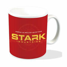 NEW STARK INDUSTRIES MUG IRON MAN TONY STARK CHANGING THE WORLD MARVEL COMIC