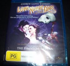 Love Never Dies - Andrew LLoyd Webber (Australia Region B) Blu-ray – New