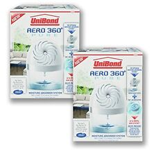 2 X UniBond Aero360 Pure Moisture Absorber Device Health Home And 2 Refills