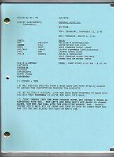 GENERAL HOSPITAL show script #7654