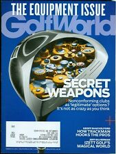 2014 Golf World Magazine Equipment Issue/Nonconforming Clubs/Trackman Hooks Pros