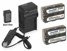 TWO Batteries + Charger for Sony DSLR-A100K DSLR-A100/B DSLR-A100K/B DSLR-A100W