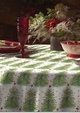 """The Pioneer Woman Holiday Tree Tablecloth 70"""" Round Christmas New"""