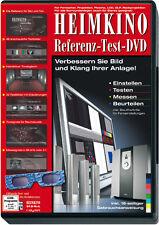 Heimkino Referenz Test DVD zur OPTIMIERUNG Bild & Ton 4:3 16:9 Stereo Surround