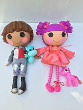 Lalaloopsy Sir Battle Scarred Knight & Lady Still Waiting Full Size Dolls wPets