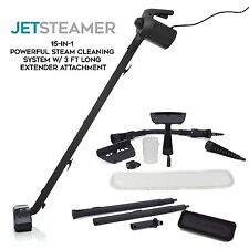 Jet Steamer - 15 in 1 Handheld Multi-Purpose Steam Cleaning System - Portable -
