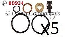 5 x *genuine* PDE Injector Seal Repair Kit (1417010997) for VW Touareg