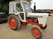 David Brown 990 & 995 Tractors Operators Manual PDF CD