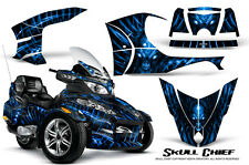 CAN-AM BRP SPYDER RT RT-S GRAPHICS KIT CREATORX DECALS SCBL