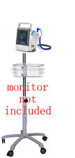 Rolling Roll  stand for Mindray vs-600,vs-900 vital sign monitor (small wheel)
