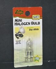 MINI HALOGEN BULB 25 W LAMP GLOWS DAY WHITE SAVES ENERGY, ( ZILLA )