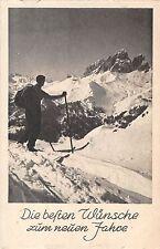 B99606 ski new year neujahr germany sport