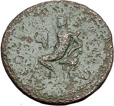 JULIA MAMAEA Severus Alexander Wife Pella Macedonia Ancient Roman Coin i55546