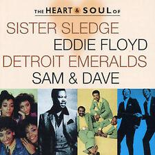 The Heart & Soul of Sister Sledge, Eddie Floyd, Detroit Emeralds, Sam & Dave