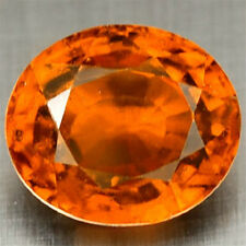 1.32 CT~ Orange HESSONITE Garnet ~ Oval ~  Natural Gemstone