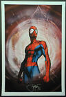 SPIDER-MAN PINUP ART PRINT by MICHAEL TURNER & PETER STEIGERWALD