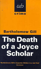 The Death of a Joyce Scholar by Bartholomew Gill (Paperback, 1998)