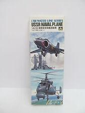 Eso-11402 Aoshima wl100 1:700 USSR naval plane kit abierto,