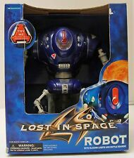 NIB Lost In Space Robot with Blazing Lights and Battle Sounds Trendmasters 9 1/2