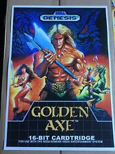 Golden Axe Genesis Game Poster Print In A3 #retrogaming This Is A Poster