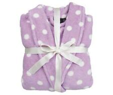 Lilac Super Soft Bath Robe Dressing Gown Ladies L/XL 24/26 with GIFT WRAP RIBBON
