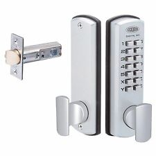 NEW Lockwood 530 Digital Door Lock DX Keyless Entrance Set  530DXSCDP