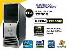 DELL Precision T3500 Xeon X5650, 16GB DDR3, 1000GB HDD,  Quadro NVS 310 Card