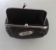 MILANO LADIES GIRLS faux LEATHER CLIP PURSE