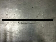 "STRAIGHT DRAG BAR 1"" Harley Cafe Custom Broom Handle Non-Dimpled Black 32"""